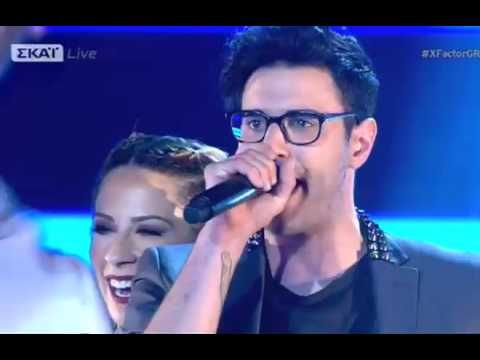 Ian Stratis_Let Me Entertain You_Live Show 2_X Factor Greece