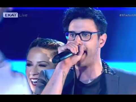 Ian Stratis_Let Me Entertain You_Live Show 2_X Factor Greece