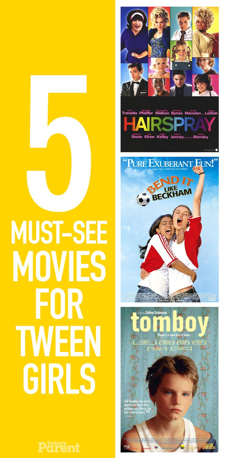 5 must-see movies for tween girls