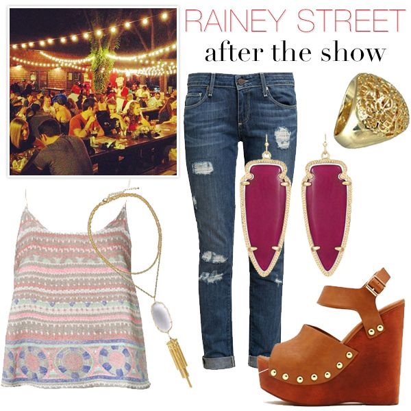 ACL Festival Style Guide - After Hours. #KendraScott