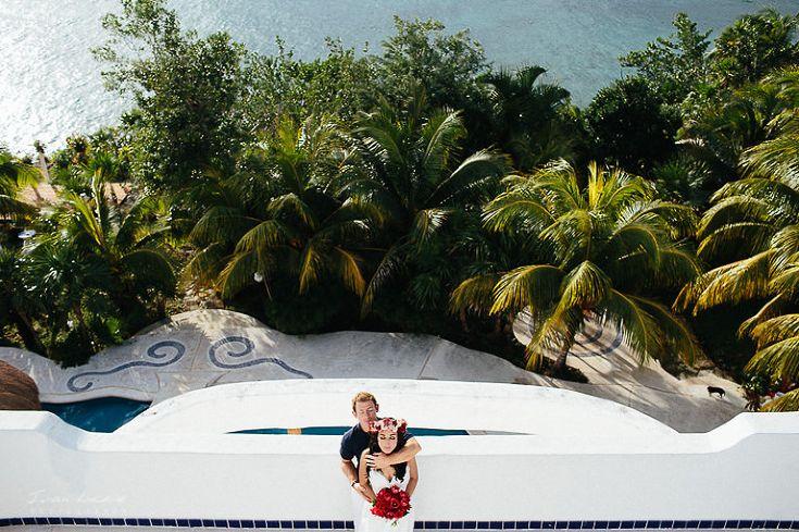 Wedding photographer Cozumel Mexico