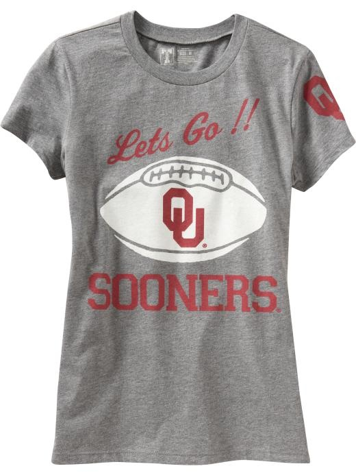 Oklahoma OU sooners shirt old navy gameday football