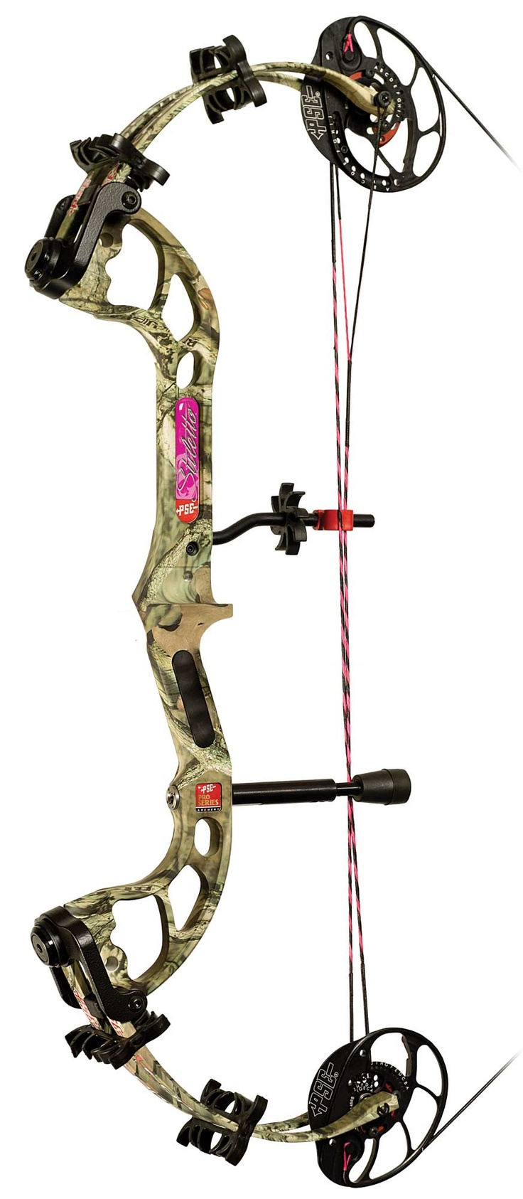 STILETTO PSE bow...so want this...soooo expensive :( .. I have it in hot pink!