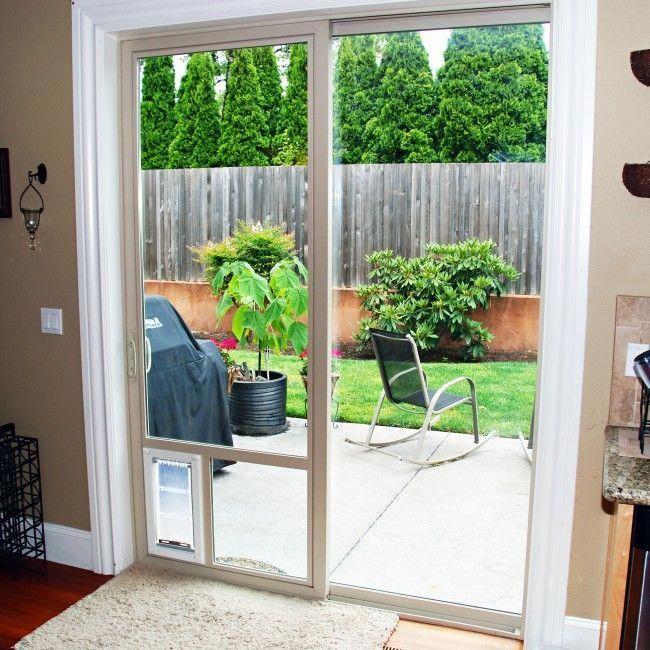 """Patio Pet Door Company """"In The Glass"""" Terrassen"""