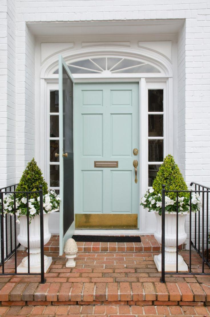 Coral Front Door Best 25 Mint Door Ideas On Pinterest House Colors Inside