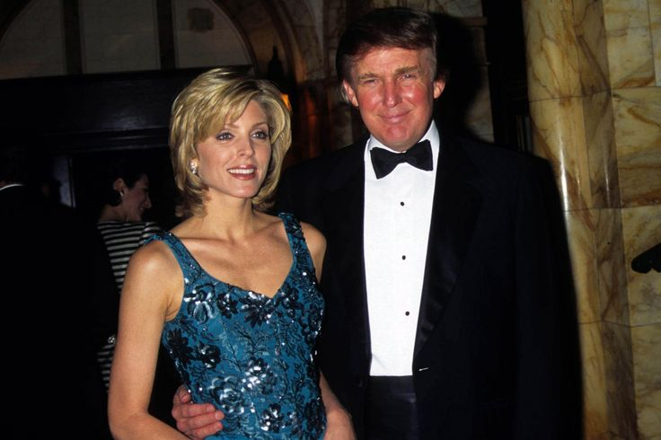Donald Trump Made Out With Marla Maples As She Delivered His Child