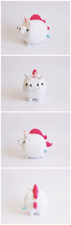 Mini unicornio bola.                                                                                                                                                                                 More