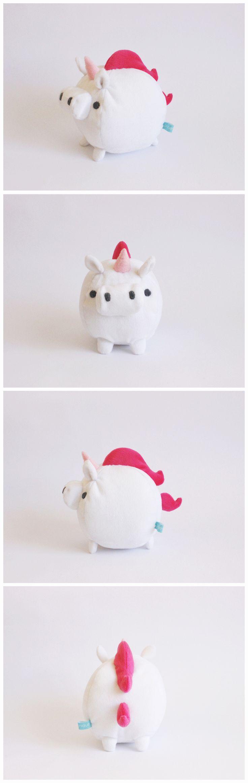 christmas unicorn teddy