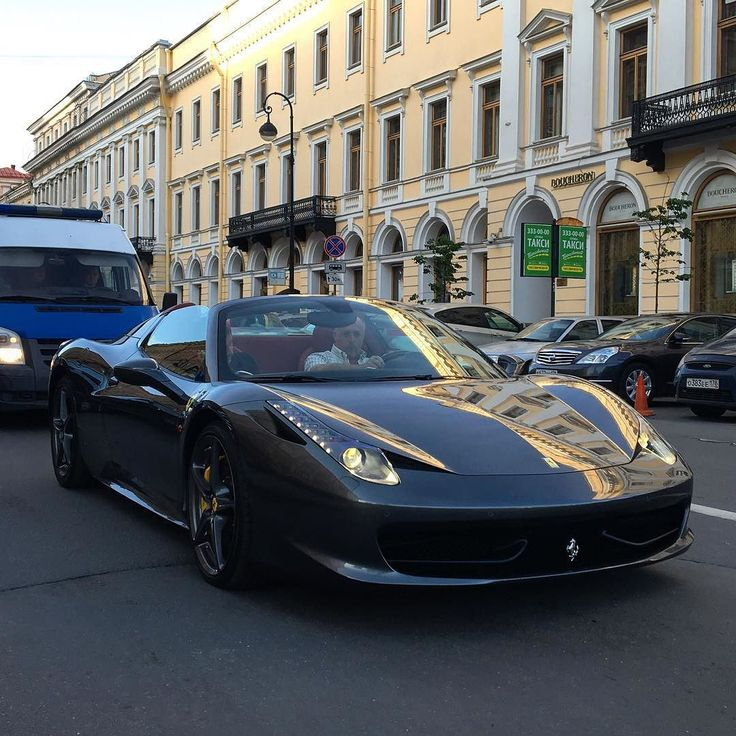 Ferrari 458 Spider #car#spb#ferrari#supercar#luxury#autogespot_russia#autogespot#авто#спб#феррари#петербург by matvey_grachev