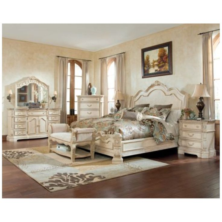 Canopy Bedroom Sets Queen Bedroom Sets With Lights Bedroom Furniture With Price Bedroom Color Ideas For Women: White Ashley Furniture Bedroom Sets