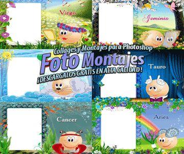 Fotomontajes de Zodiaco