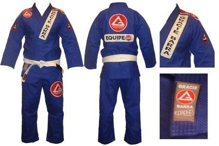 **Official Gracie Barra COMPETITION Uniform (Gi) **- BLUE