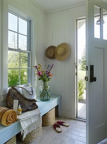 Mud Room Ideas | Mud room. | Country garden ideas