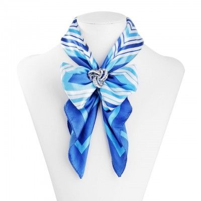 Knot Scarf Ring Slide