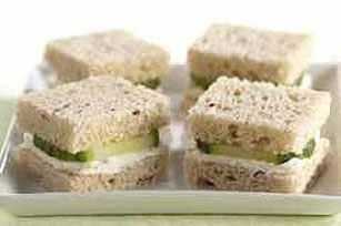 40 Tea Sandwich Recipes!! Gramma bev would love this