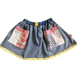Monstar Peaches Skirt - Available now @ www.littlevintagehearts.com.au