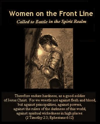 Women Warriors - important to the Battle and the Kingdom of Light