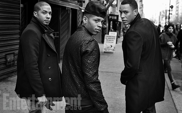 'Empire' Cast Portraits and Behind-the-Scenes Photos | (Left to right) Jussie Smollett, Bryshere Gray, Trai Byers | EW.com