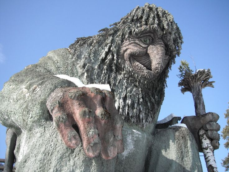 Did you know that Norway is full of trolls? Visit this incredible troll park in Norway this summer!