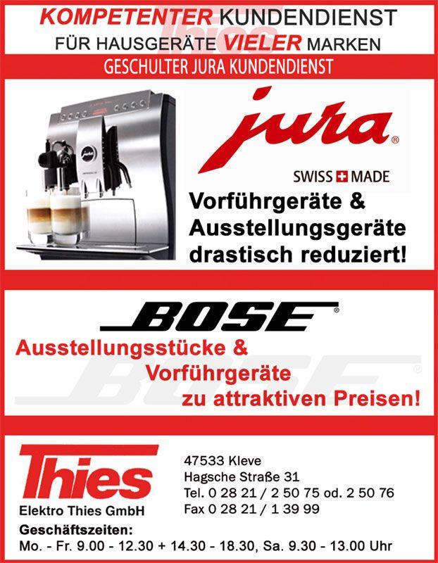 Elektro Thies Kleve - Anzeigengestaltung