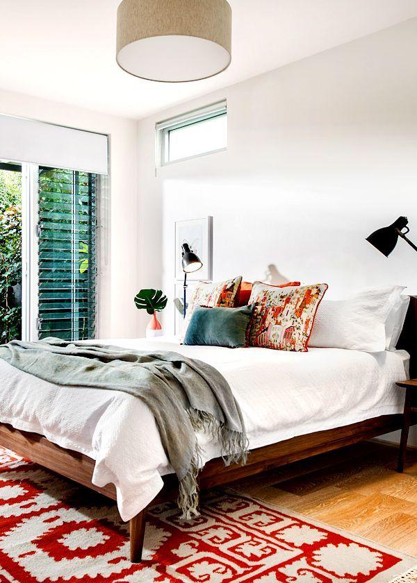 Natural textures in master bedroom 255 best