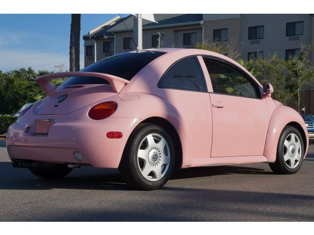 Pink VW Beetle Volkswagen