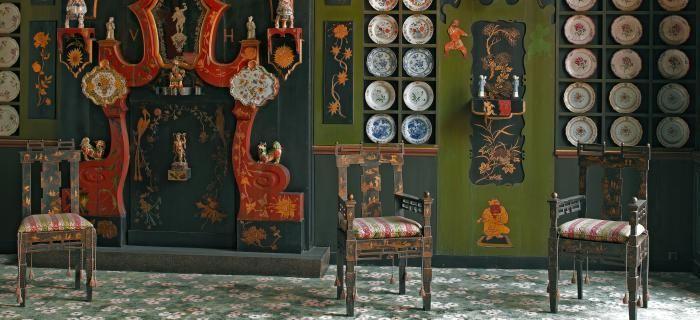 vue du Salon Chinois (c) Eric Emo et Stéphane Piera/ Maisons de Victor Hugo / Roger-Viollet
