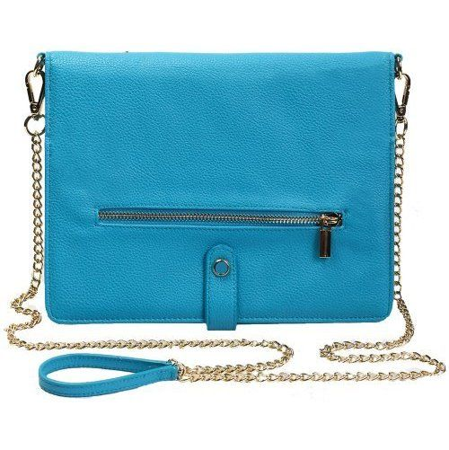 Tyla Rae Designer Crossbody Case with Detachable  ($19.95): Design Crossbodi, Pur Blue, Ipad Clutches, Polly Ipad, Ipad Pur, Clutches Blue, Rae Design, Pebble Ipad, Crossbodi Cases