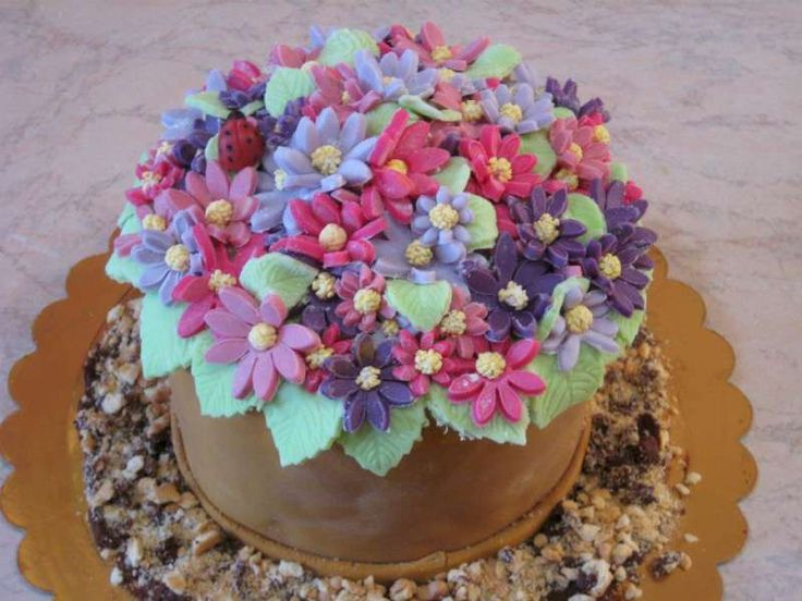 Estremamente 63 best cake fiori e farfalle images on Pinterest | Anniversary  VV83