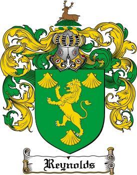 Reynolds Family Crest / Reynolds Coat of Arms