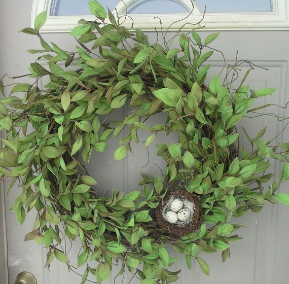 simple     Spring Beauty ....  Boxwood wreath, Front Door Wreaths, Spring Wreaths, wreaths, Door Wreaths, wreaths, Brand New Day Designs, ferns
