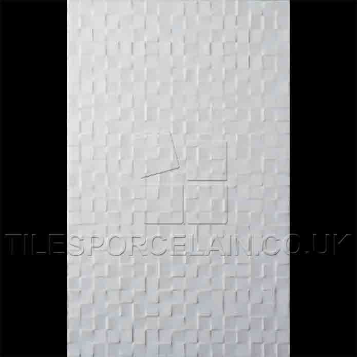 Studio Conran Hartland White Mosaic Ceramic Tiles | RAN00439 | Tilesporcelain