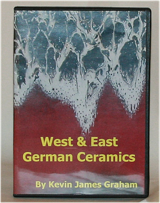 West & East German Ceramics by Kevin James by morethanfatlava, $45.00