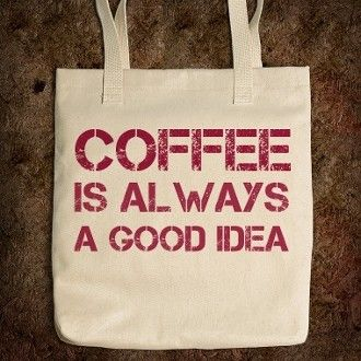 Coffee Tote Bag   American Apparel
