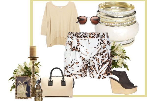 tropikal desenli kıyafet kombinleri  # moda #2014 trendler# yaz modası # bayan moda