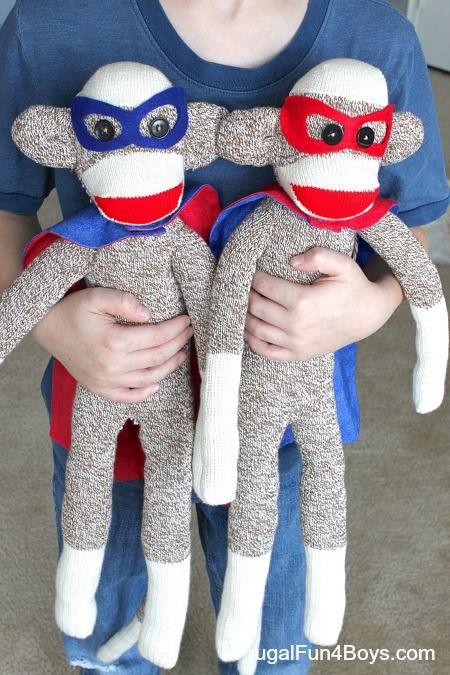 How to make Superhero Sock Monkeys Gresham and I have been dying to show you the gifts we made for his brothers this year, but I was afraid to post before Christmas just in case someone were to walk past my computer screen at the wrong moment and spoil the surprise! We have a tradition …