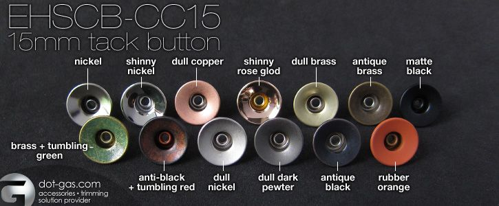 jeans button colors and finishes