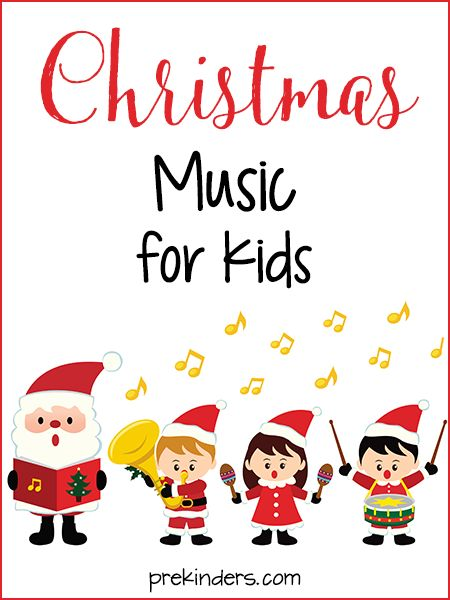 Christmas Music for Kids (free; from PreKinders)