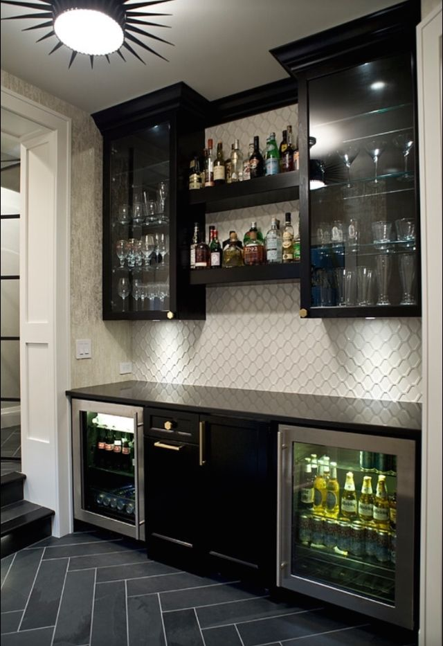 Tile in bulters pantry