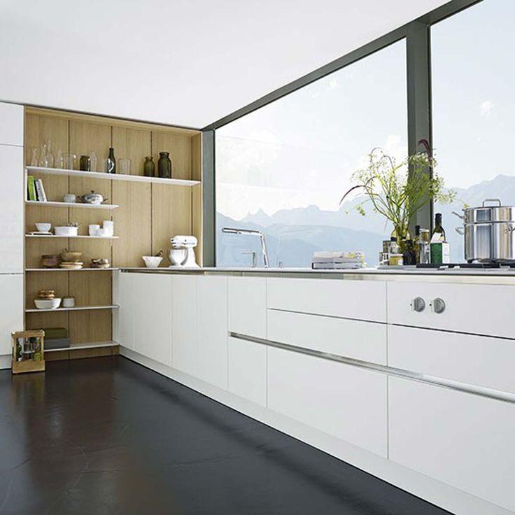 SieMatic White kitchen design ideas ~ http://www.lookmyhomes.com/white-kitchen-design-ideas-10-best-photos/