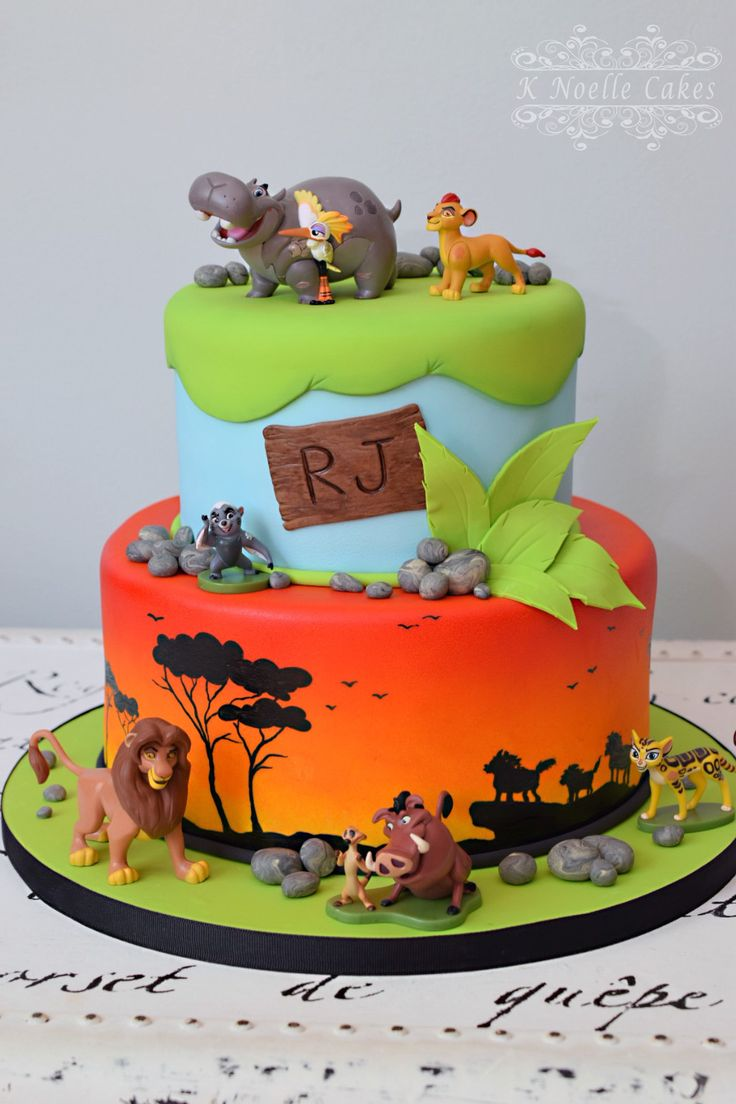 Lion King Cake Decorations Uk : The 25+ best Lion guard birthday cake ideas on Pinterest ...