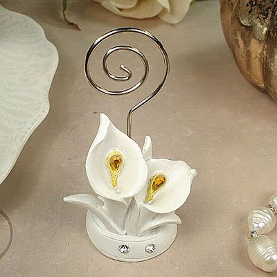 deluxe placecard holder calla lily design 4231ml