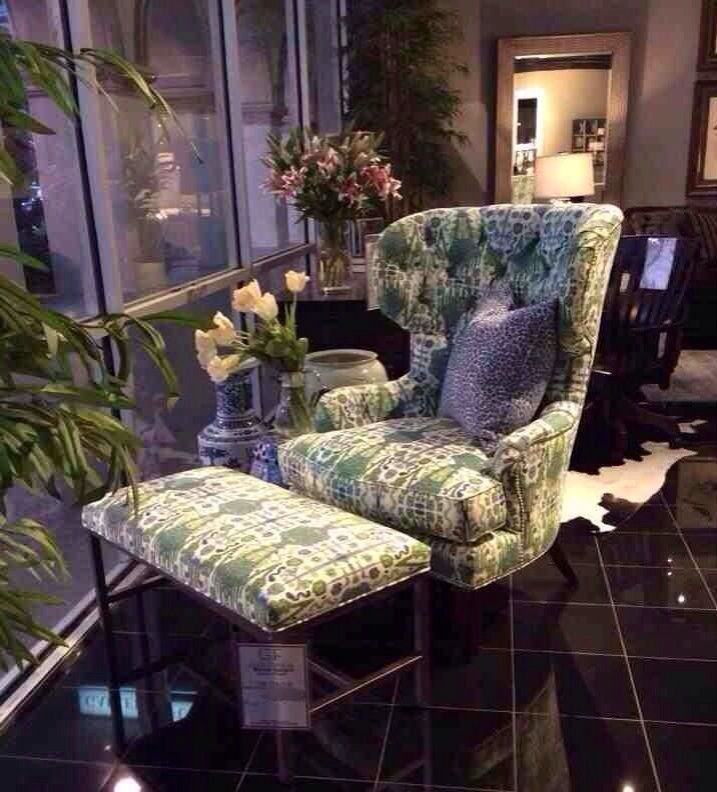 A Delicately Patterned Accent Chair And Ottoman Are The Perfect Spring Time  Addition To Your Home! Stop By Our 6006 N. Freeway Location To See This  Gorgeous ...
