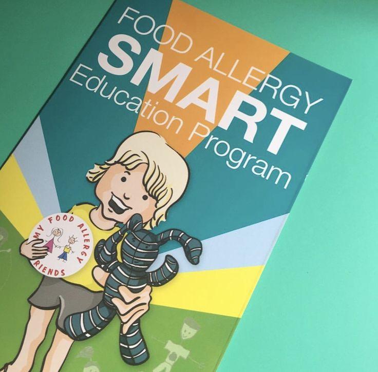 Written and designed for children, Food Allergy SMART program provides Allergy education for preschool and primary school children.  #redsneakersforoakley #livlikeoaks #foodallergyawareness #RSFO
