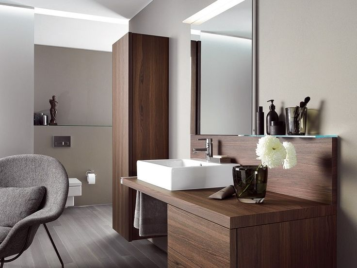 badm bel aus holz modern und stilvoll badezimmer. Black Bedroom Furniture Sets. Home Design Ideas