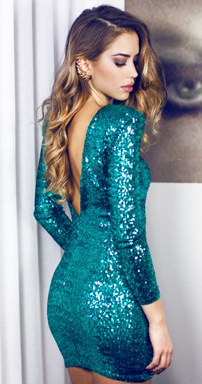 17 Best ideas about Green Sequin Dress on Pinterest | Emerald gown ...