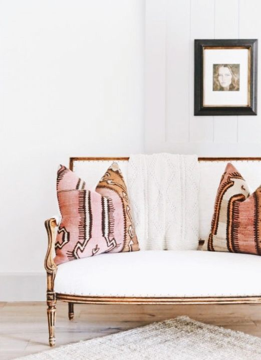 Refinished settee