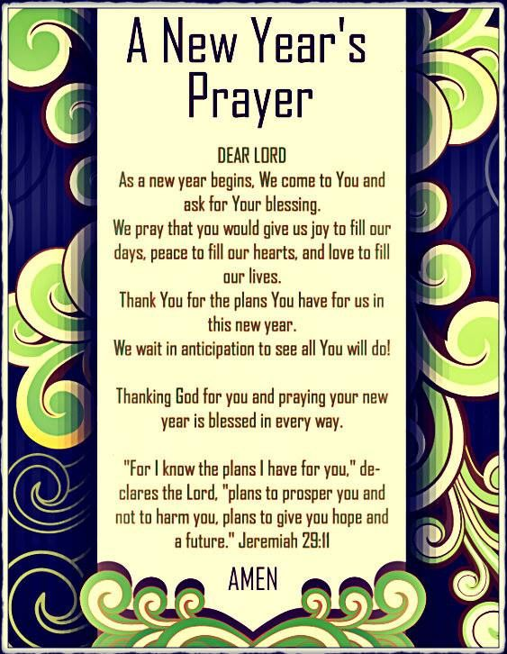 Pin by Living Water on Prayers | Pinterest | Prayers, New years ...