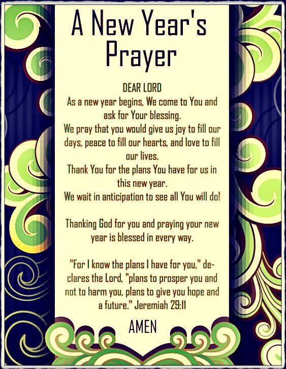 A new year's prayer   https://www.facebook.com/443888082358265/photos/789759237771146