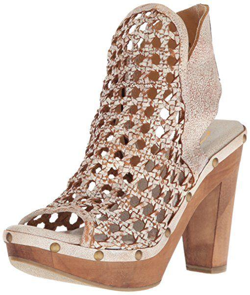 db18c0c93b1e8 Amazon.com | Sbicca Women's Rayna Heeled Sandal, White, 8 B US ...